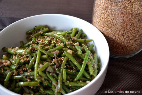 Les haricots verts, on a souvent l'impression d'en avoir fait le tour, avec cette recette j'ai trouvé une alternative ! A l'asiatique pour faire pétiller les papilles