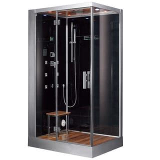 Shop for Platinum DZ959F8 Black Acrylic, Glass, Stainless Steel Computerized Steam Shower. Get free shipping at Overstock.com - Your Online Home Improvement Outlet Store! Get 5% in rewards with Club O! - 18905530