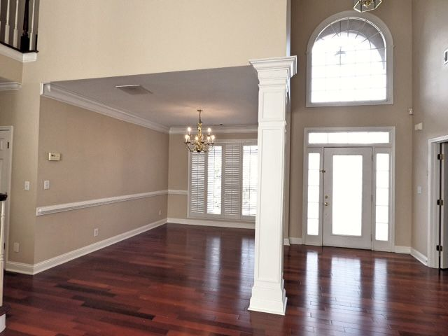Crown Molding Two Story Foyer : Must see two story foyer