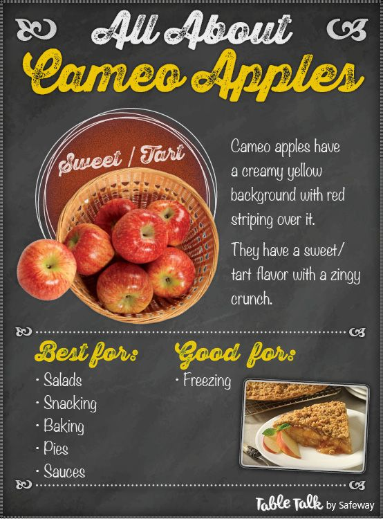 All About Cameo Apples