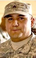 Army SGT Guadalupe Cervantes Ramirez, 26, of Fort Irwin, California. Died April 23, 2008, serving during Operation Iraqi Freedom. Assigned to 2nd Transportation Company (Heavy Equipment Transport), Echelons Above Brigade Support Battalion, National Training Center Support Brigade, Fort Irwin, California. Died of injuries sustained when his vehicle rolled over at Camp Arifjan, Kuwait.