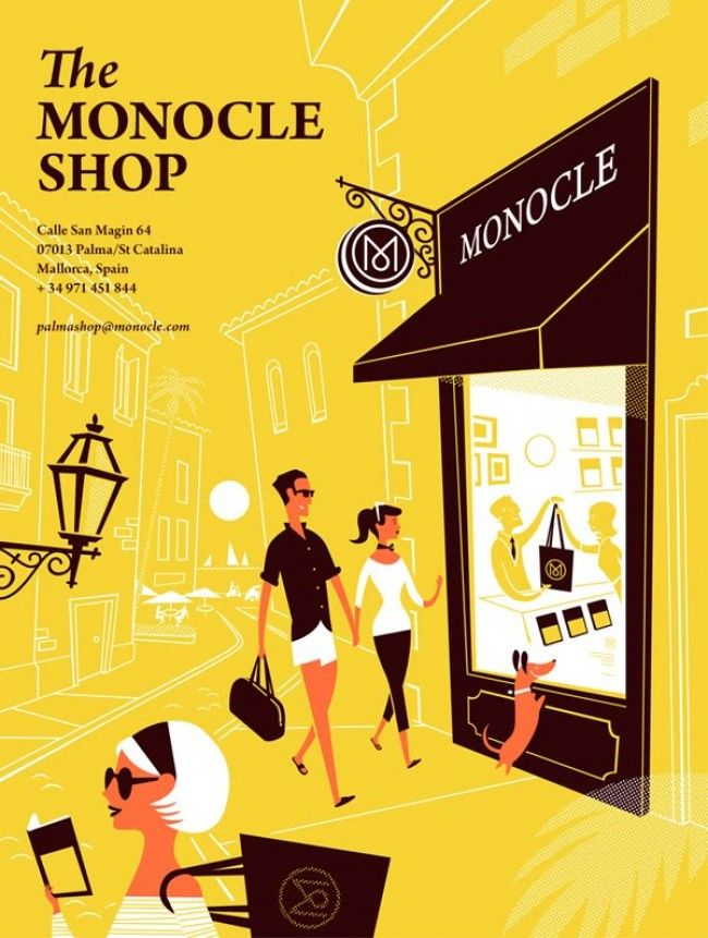 Ryan Meis and Sarah Labieniec (a.k.a. Lab Partners) are a design and illustration duo based in San Francisco. Their stylised designs remind me of mid-century illustrations. Here are some examples of their work for Monocle.