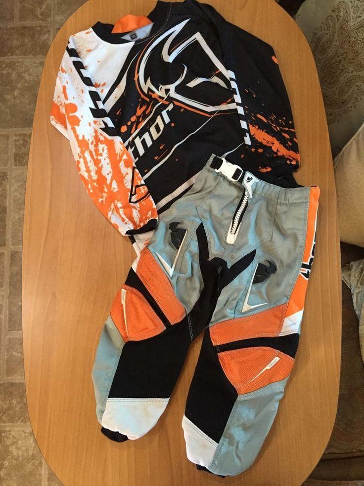 THOR padded BMX gear