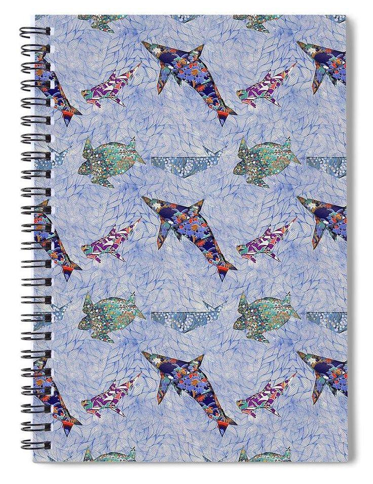 Origami Sea Creatures - Spiral Notebook
