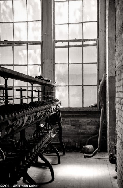 Lonaconing Silk Mill - Lonaconing, PA. The last intact silk mill in the US.