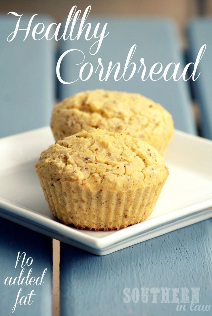 This isn't Paula Deen's Cornbread! This Healthy, Gluten Free and Vegan Recipe is low in fat with no butter or oil and it's so fluffy and delicious! A clean eating friendly recipe!