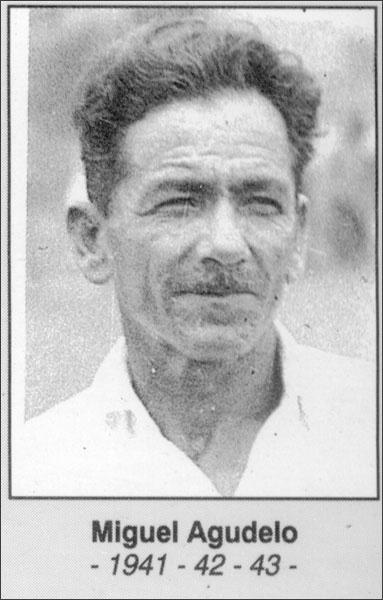 Miguel Agudelo 1941- 1942- 1943