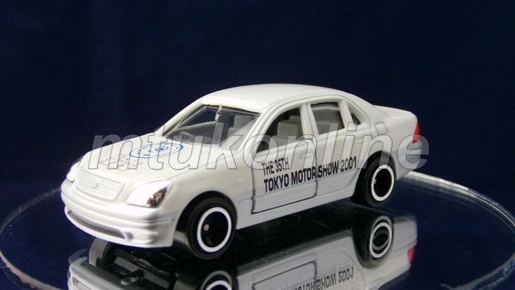 TOMICA 17 TOYOTA CELSIOR LEXUS LS430 | 1/65 | TOKYO MOTOR SHOW #35 2001 NO.10