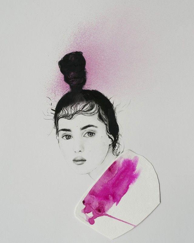 Fille by Tiffany Cole - Vango Original Art