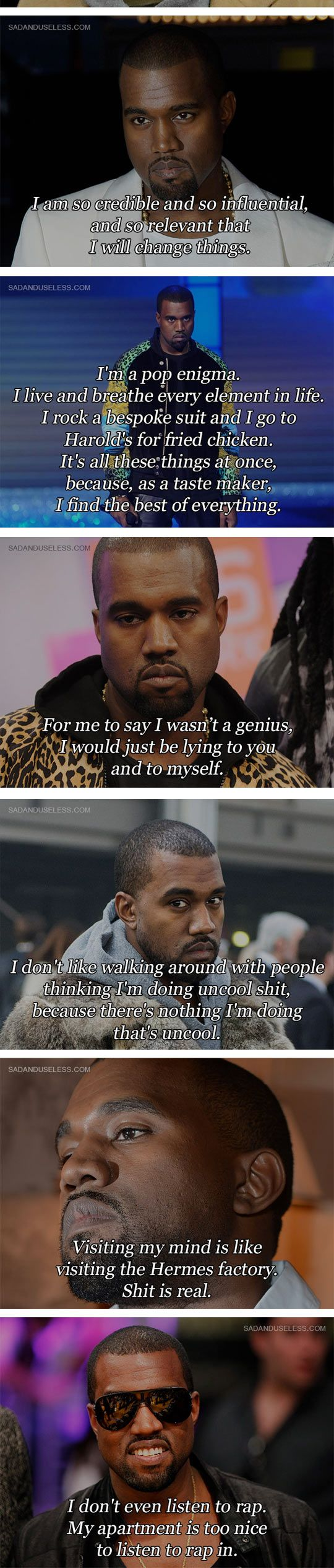 Some Kanye West Quotes