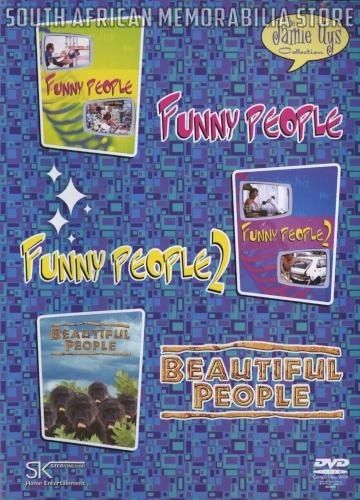 JAMIE UYS - Funny People 1 & 2 / Beautiful People - South African DVD Boxset *New* - South African Memorabilia Store
