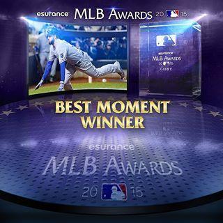 No risk, no reward. Eric Hosmer's gutsy dash home wins the @esurance MLB Award for Best Moment. #AwardWorthy | royals.com