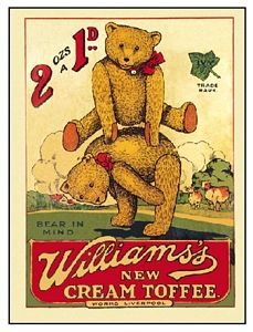 food ads (34) teddy bears from vintageimages
