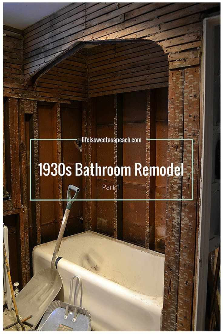 1930s Bathroom Remodel   Part 1Best 25  1930s bathroom ideas only on Pinterest   1930s house  . Tile Bathroom Remodeling Part 1. Home Design Ideas
