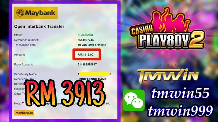 Wow Congratulation Playboy888 Tembak Ikan Withdraw Rm 3913 Hong Leong Bank Projects To Try Congratulations
