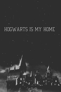 Hogwarts is my home <3