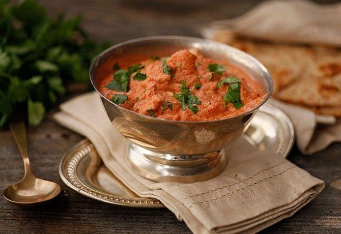 Gyors indiai vajas csirke recept képpel. Hozzávalók és az elkészítés részletes leírása. A gyors indiai vajas csirke elkészítési ideje: 50 perc