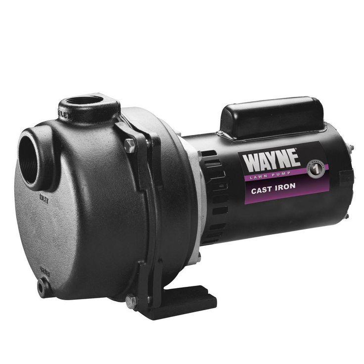 2 HP Permanent Lawn Sprinkler Pump