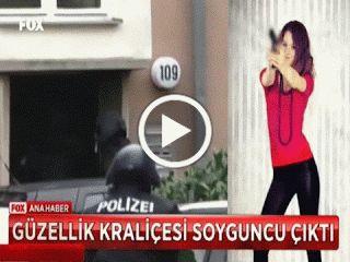 Güzellik Kraliçesi terörist çıktı polis güzel mankenin evine baskın yaptı ortaya çıkan otomatik silahlara ve bıçaklara kimse inanamadı.