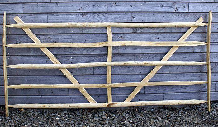 Barriere chataignier bois naturel sarl auvray St Meloir des Ondes Bretagne Ille et Vilaine 35