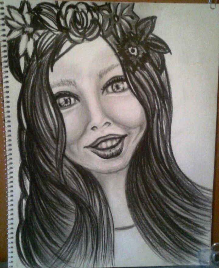Charlotte!  My personal drawing, Barbara Scott