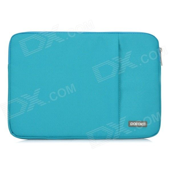 "POFOKO Protective Nylon Sleeve Bag w/ Zipper for MacBook Air / Pro 13.3"" Laptop - Blue Price: $15.78"