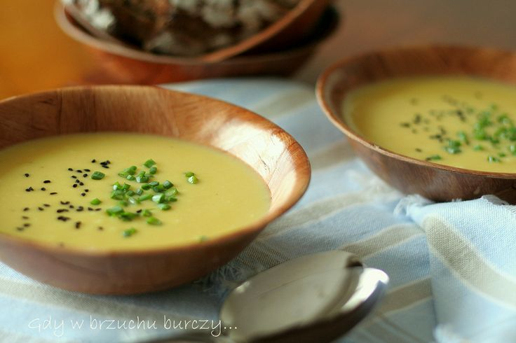 Jedwabista zupa porowa