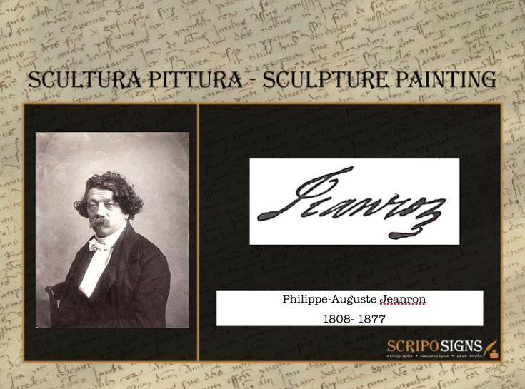 Philippe-Auguste Jeanron - #scripomarket #scriposigns #scripofilia #scripophily #finanza #finance #collezionismo #collectibles #arte #art #scripoart #scripoarte #borsa #stock #azioni #bonds #obbligazioni