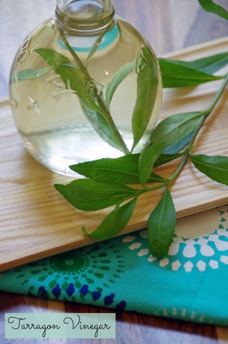 If you have tarragon growing in the garden, make this tarragon vinegar recipe. Then check out these other great uses for tarragon!