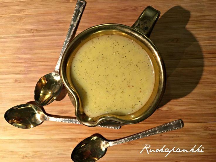 Ruokapankki: Täyteläinen vaniljakastike #ruokapankki #ruokablogi #vanilja #foodie #foodblogger #food #ruoka