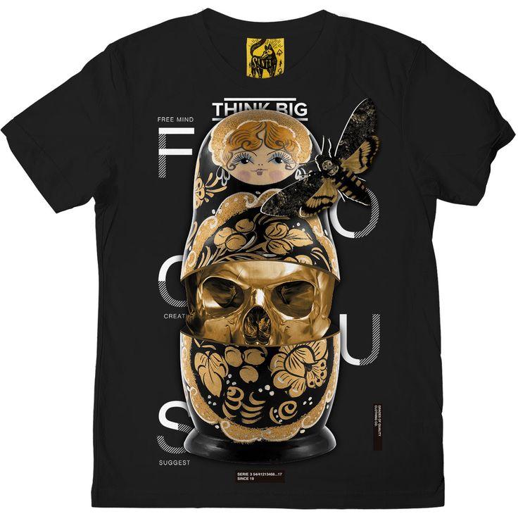 desing tee brand gold skull  #tee #desing #tiger #brand #bysanta #oriental #graphic #red #love #dark #skull #text #black #fashion #gold #premium #tshirt #polka #doll #parka