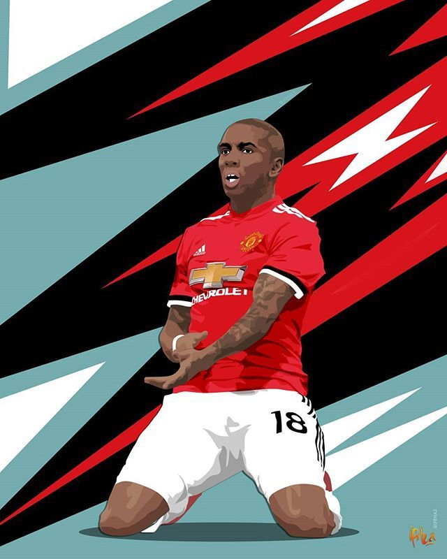 Reposting @ifrha3: Actually quite pleased with how this turned out! @youngy_18 or Messi?! 😛 Tag a #United fan to make sure they see this! • • #manchesterunited #manutd #mufc #ggmu #ashleyyoung #youngy #oldtrafford #manchester #football #futebol #voetbal #calcio #fussball #premierleague #graphicdesign #creative #art #footballdesign