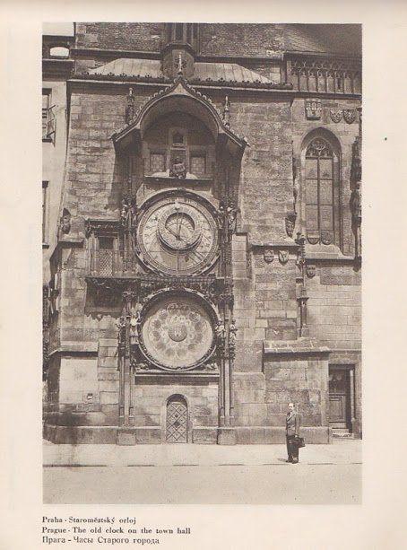 """Praha Neznámá on Twitter: """"Staroměstský orloj ve 30. letech. Foto zaslal: Tomáš Horváth https://t.co/Hxkf6poReH"""""""
