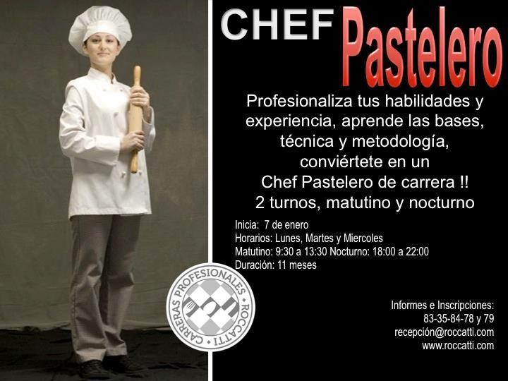 chef pastelero / Roccatti / Mty