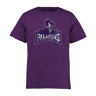Furman Paladins Youth Classic Primary T-Shirt - Purple