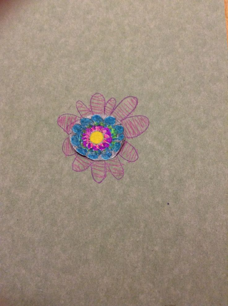 Little flower doodle I drew :D :D really easy