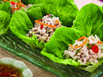 "Chiang Mai Chicken in Lettuce Cups"" from Cookstr.com #cookstr"