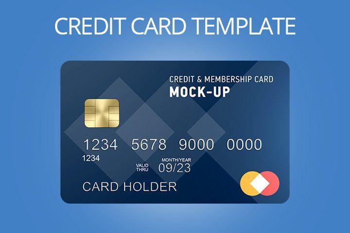 Credit Card Template 893947 Branding Design Bundles In 2021 Card Template Business Card Logo Templates