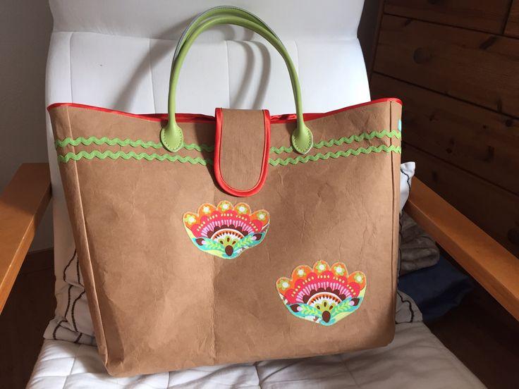 Tasche aus Snap Pap ... Danke liebe Claudia für die tolle Tasch