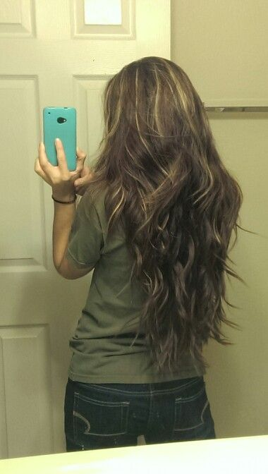 Hairstyles For Medium Hair Highlights Pin On My Style