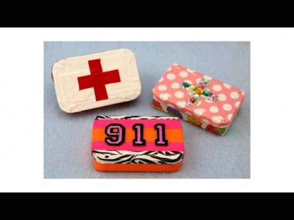 Duct Tape and Altoid Tin First Aid Kit sophie-world com