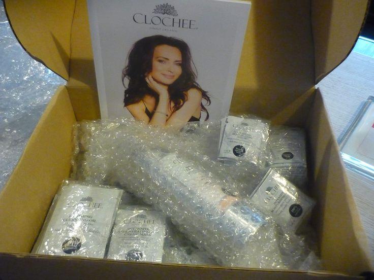 Dzisiejsza dostawa kosmetyków Clochee ❤️