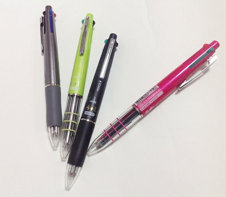 X 1Ea  Java Jet 4+1 Multi-Pen 4Color Ball Point Pen   Sharp Pencil Korean