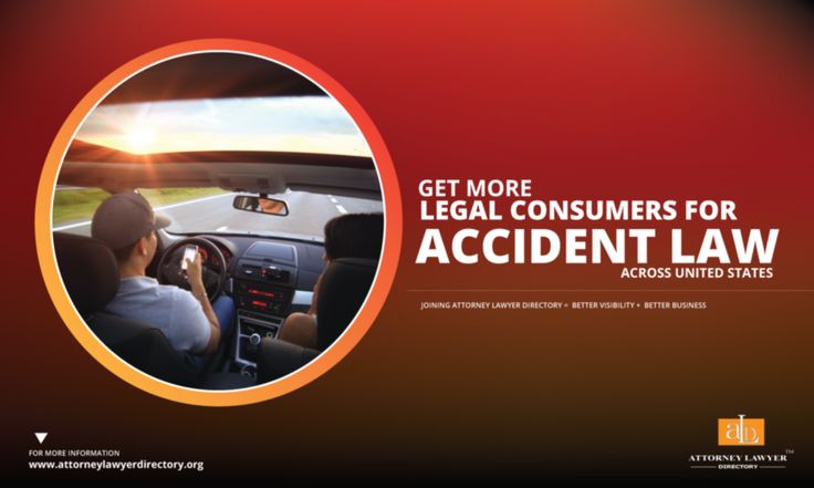 Get More Legal Consumers for Accident Law across United States. Joining Attorney Lawyer Directory = More visibility + More Business #lawyer #attorney #accidentlawyer #accidentlaw http://attorneylawyerdirectory.org/find-locate-lawyer-lawfirms/accidents-and-injuries.html