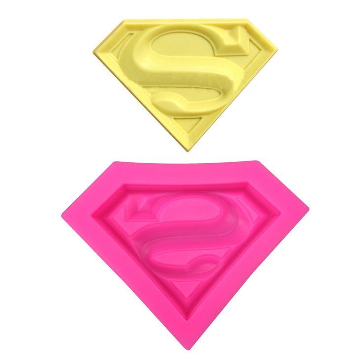 Superman S Silicone Mold