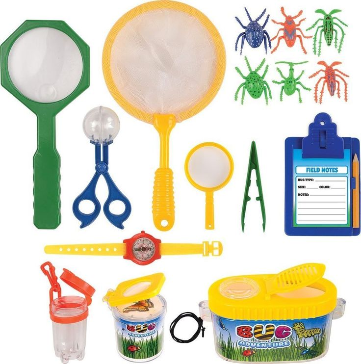Insect Bug Adventure Set 18 Pc Kids Childrens Backyard Exploration Kit Playset #Kangaroo