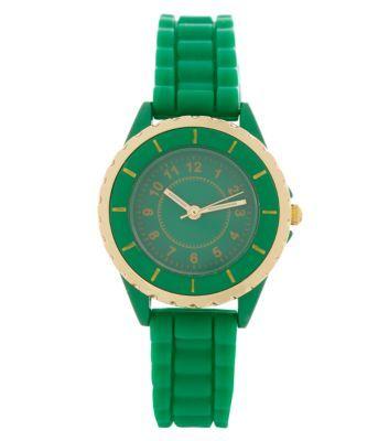 Green Mini Sports Watch