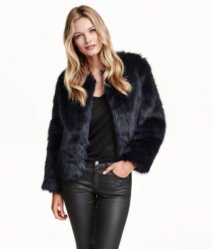 Faux Fur Jacket | Product Detail | H&M