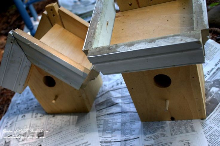 Easy Diy Green Roof Birdhouses Fairy Gardens