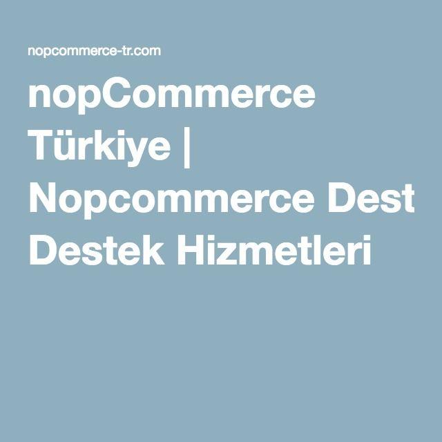 nopCommerce Türkiye | nopcommerce Destek Hizmetleri nopCommerce Plugin Geliştirme nopCommerce Özel Yazılım Geliştirme nopCommerce Ödeme Sistemi Banka